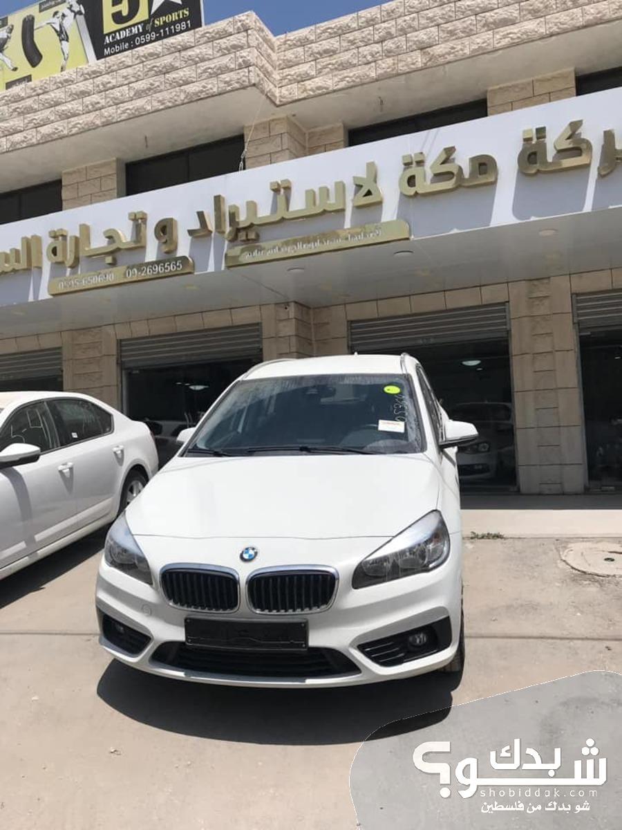 بي ام دبليو BMW 218d  موديل سنة 2017
