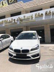 بي ام دبليو BMW 218d 2017  ترخيص 2016  ماطور 2000 اوتومات