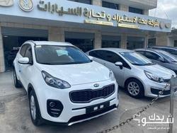 كيا Kia سبورتاج موديل سنة 2018 - فل اضافات عدا الفتحة