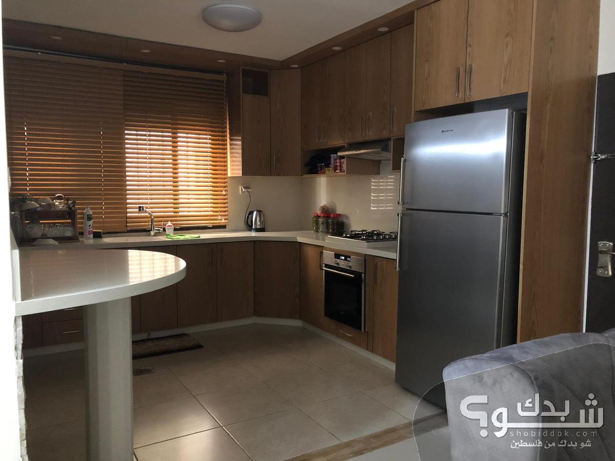 شقة للايجار ثلاث غرف - فرش ممتاز - 135م - حي المهندسين
