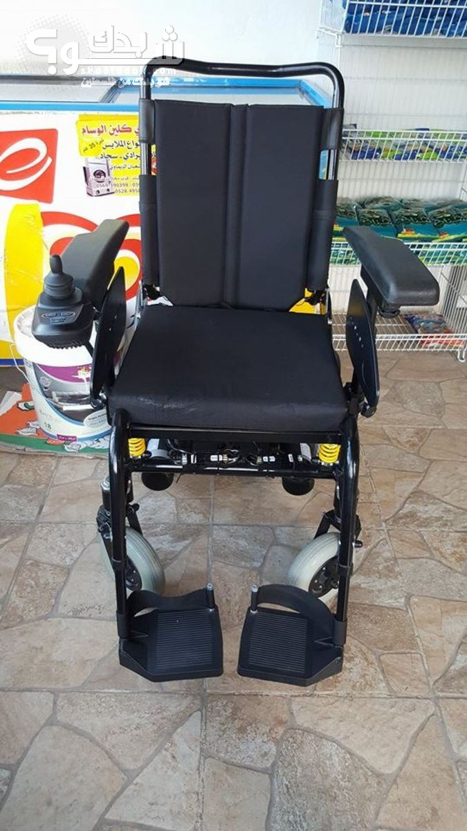 كرسي كهربائي متحرك شو بدك من فلسطين