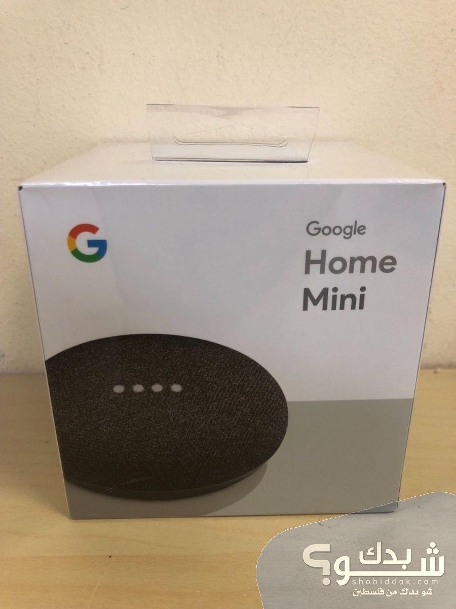 جهاز جوجل هوم ميني Google Home Mini شو بدك من فلسطين