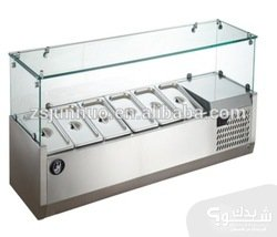Thumb 1115 counter top glass display salad bar.jpg 350x350